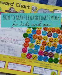 Do Reward Charts Work How To Get Kids Reward Charts To Work Kids Rewards Reward