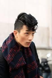 Photos Coupe Mi Long Homme Asiatique