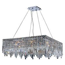 worldwide lighting cascade collection 12 light crystal and chrome chandelier