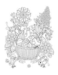 Small Picture Printable 37 Easter Coloring Pages for Adults 11975 Printable