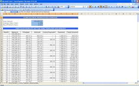 Loan Spreadsheet Template Amortization With Extra Payments Maggi