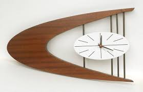 winsome midcentury wall clock 79 mid century modern atomic wall pertaining to size 1500 x 974