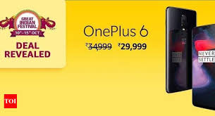 oneplus 6 amazon offer amazon offers rs 5 000 off instant on oneplus 6 smartphone best s times of india