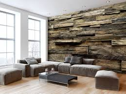 wall mural rustic style country