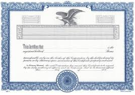 Stock Certificats Duke 11 Stock Certificates