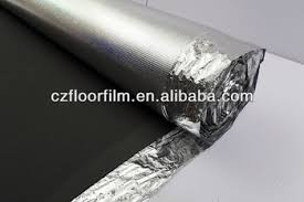 Heat Resistant Sound Insulation Foam Aluminum Foil Backed Eva Foam Thermal  Insulation Heated Underlayment For Laminate