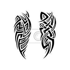Fototapeta Tribal Tetování Design