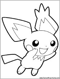 Pichu Coloring Pages - GetColoringPages.com