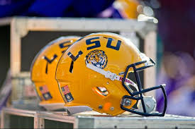 Image result for lsu football helmet