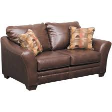 picture of del rio bonded leather loveseat