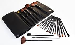 beauté basics 24 piece makeup brush set