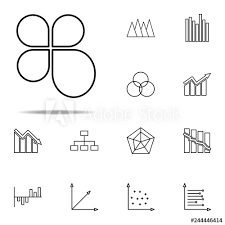 Bubble Chart Icon Finance And Chart Icons Universal Set For