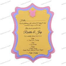 Baby Shower Invitation Cards Baby Shower 3 Layer Invitation Card