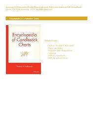 Read Epub Encyclopedia Of Candlestick Charts By Thomas N