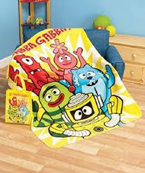 Yo Gabba Gabba Throw Blanket