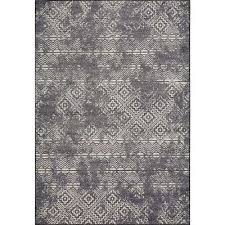 laa grey elements 8 ft x 11 ft distressed area rug
