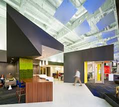 office design sf. Exellent Office Textured Carpet From Shaw Contract Group And Brightly Colored Backpainted  Glass Help Delineate Different Inside Office Design Sf A
