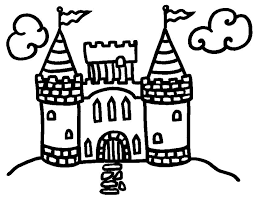Small Picture Easy castle coloring pages for kids ColoringStar