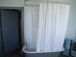 com extra wide vinyl shower curtain for a clawfoot tub white less magnets 180 x 70 kitchen dining