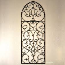 ornamental wrought iron wall art