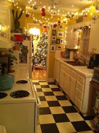 Red Tile Kitchen Floor Decorating Kitchen Counters Decorating Ideas