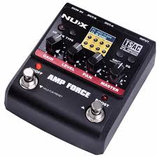 nux force guitar effect pedal stomp