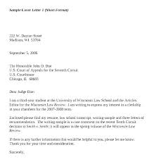 Basic Cover Letters Short Letter Example Brief Best Ideas Of ...