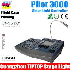 flight case ng avolites pilot 3000 professional led stage light controller dmx lighting console 100v 220v 2 dmx universes 1024 output pilot 3000