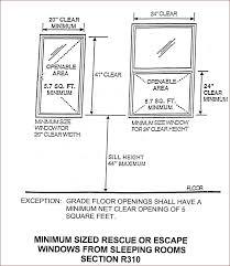 basement window egress requirements new jersey egress code clarification basement basement egress window requirements mn