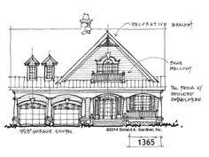 images about Conceptual Plans on Pinterest   Drawing Board    Bungalow House Plan on the Drawing Board       our  House  Plans  Blog and tell us what you think about this conceptual design