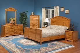 800 series pine veneer with panel bed ajaco furniture dark pine 4 piece king bedroom set trestlewood