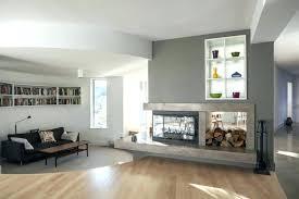 3 sided fireplace ideas three design gas