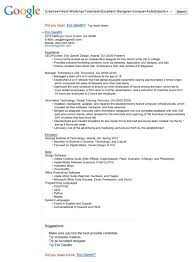 Google Resume Templates Microsoft Word Resume Templates Microsoft Word 13 Insanely Cool Resumes That Landed