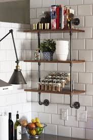 Amazing Wood And Plumbing Pipe Shelving Unit That Could Become Your Next Kitchen  DIY Project   Shelterness | SHELVES | Kitchen, Kitchen Remodel, Diy Kitchen