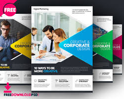 Advertising Flyers Samples Download Free Business Flyer Template Freedownloadpsd Com