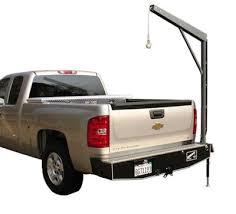 1350 lb Pickup Truck Bumper Crane