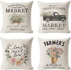 outdoor throw pillow covers set of 4