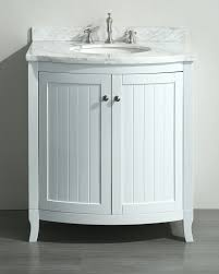 White Floor Bathroom Cabinet White 30 Inch Bathroom Vanity White Carrera Marble Top