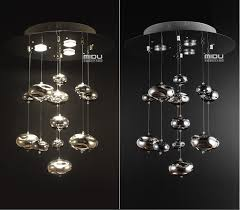 murano due lighting. H60cm Murano Due Bubble Glass Ceiling Light Chrome Lampshade Decoration Fixtures Restaurant Bedroom Home Hanging Lamp 110 240V-in Lights From Lighting C