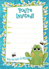 Birthday Party Invitation Template Word Free Party Invitation Template Word Free Templates Blank Birthday