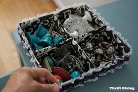 organized make your own diy drawer organizer thrift diving blog
