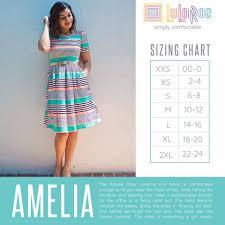 Sizing Chart Amelia