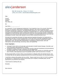 Example Of Executive Cover Letters Cover Letter Example For Hospitality Manager