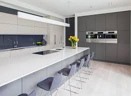 Cool Modern Gray Kitchen Cabinets 35 Gray Kitchen Counters You Cant