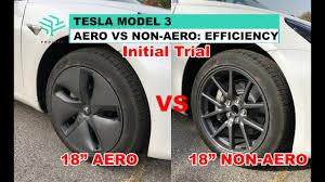 Tesla Model 3 Aero Wheel Covers Ev Vs Ice Comparison