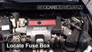 replace a fuse chevrolet impala chevrolet impala replace a fuse 2000 2005 chevrolet impala 2002 chevrolet impala 3 8l v6