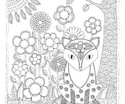 Cute Animal Coloring Pages Pdf Easy Mandala Animal Coloring Page