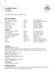 Sephora Resume Cover Letter Artistic Resume Example Artist Makeup Template Sample For Sephora 48