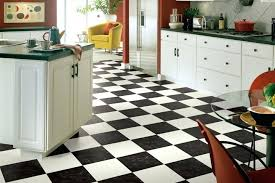 kitchen flooring in black and white vinyl landmark i collection sheet checkerboard floor tile kitchen with gray cabinets and black white checd floors