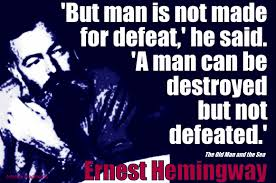 Some Of Ernest Hemingways Greatest Quotes With Artwork Books With